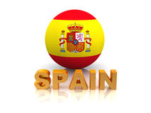 Symbol of Spain Royalty Free Stock Image