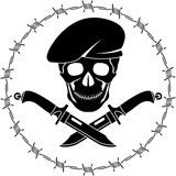 Symbol of special forces Royalty Free Stock Photo