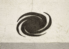 Symbol of spiral Royalty Free Stock Photos