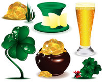 Symbol  of St. Patrick's Day  Royalty Free Stock Photos