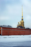 A symbol of St. Petersburg Royalty Free Stock Photos