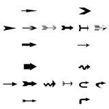 Symbol strzała Ilustracja Wektor