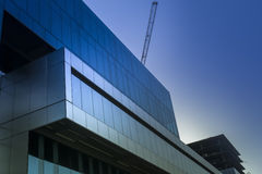 Symbol of success - modern glass office building Royalty Free Stock Photos