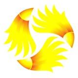 Symbol of sun Stock Photo