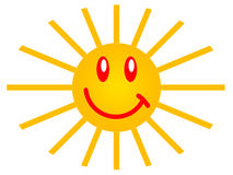 Symbol of the sun Stock Images