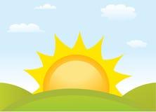 Symbol sun Royalty Free Stock Images