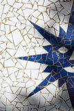 Symbol of sun made with mosaic Royalty Free Stock Images