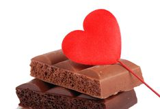 Symbol of sweet love Stock Image