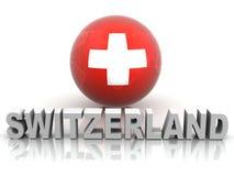 Symbol of Switzerland Stock Photo