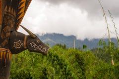 Symbol in Tana Toraja Royalty Free Stock Image