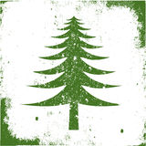 Symbol tree grunge Royalty Free Stock Photo