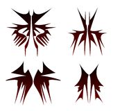Symbol tribals set Royalty Free Stock Photos