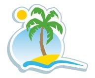symbol tropikalny Zdjęcia Stock