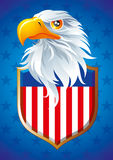 Symbol of USA. The national symbol of USA Royalty Free Stock Images