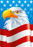 Symbol of USA. The national symbol of USA Stock Image