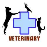 Symbol of veterinary medicine Royalty Free Stock Image