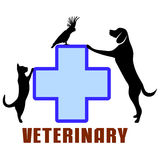 Symbol of veterinary medicine Royalty Free Stock Photography
