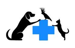 Symbol of veterinary medicine Royalty Free Stock Photos