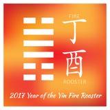 Symbol von 2017 Lizenzfreies Stockfoto