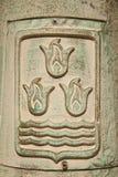 Symbol von Aserbaidschan Stockbild