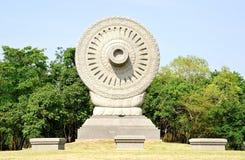 Symbol von Buddhismus lizenzfreies stockbild