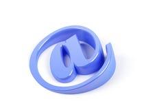 Symbol von eMail. Stockfotografie