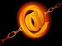 Symbol von eMail Lizenzfreie Stockfotografie