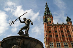 Symbol von Gdansk Stockbild