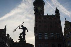 Symbol von Gdansk Stockfoto