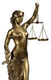 Symbol von Gerechtigkeit Lizenzfreies Stockbild