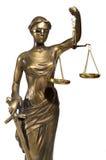 Symbol von Gerechtigkeit Stockbild