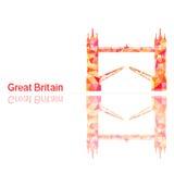 Symbol von Großbritannien Stockfotografie