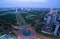 Symbol von Jakarta Stockbild