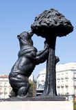 Symbol von Madrid Stockbilder
