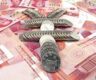 Symbol von Renminbi Lizenzfreies Stockfoto