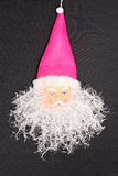 Symbol von Weihnachten und von neuem Jahr dekorative Santa Claus Lizenzfreie Stockbilder
