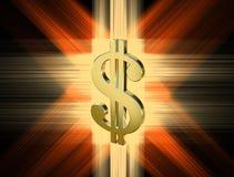 Symbol waluty dolar Zdjęcie Royalty Free