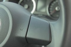 Symbol of warn in car. Stock Photography