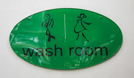 Symbol of wash room Stock Photo
