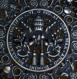 Symbol Watykan zdjęcia stock