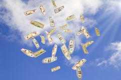 Symbol of wealth and success. Royalty Free Stock Images