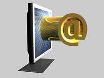 An-Symbol - Web Lizenzfreies Stockfoto