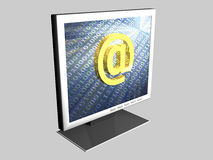 At-Symbol - Web Royalty Free Stock Images