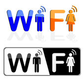 Symbol wi fi Stock Images