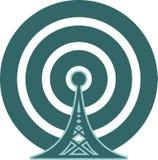 Symbol Wi-FI-drahtlosen Netzwerks Lizenzfreie Stockfotos