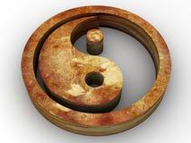 symbol yang som ying Royaltyfria Bilder