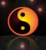 symbol yang ying Στοκ εικόνα με δικαίωμα ελεύθερης χρήσης