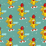 Symbol Of Year Seamless Pattern Royalty Free Stock Photography