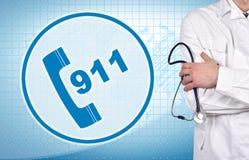 911 symbol Stock Images