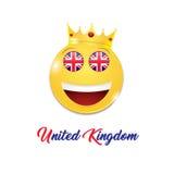 Symbol z koroną Fotografia Royalty Free